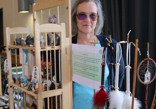 Healing Light Festival therapist and exhibitor Sheila Bullard
